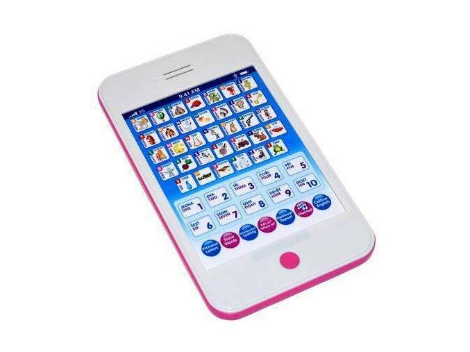 Interaktivní tablet modrý/růžový