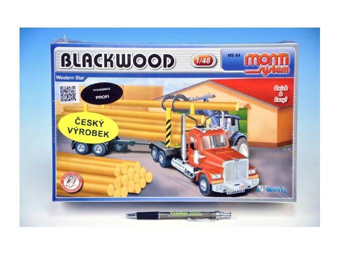 Stavebnice Monti System MS 64 Blackwood Western star 1:48 v krabici 32x20,5x9cm