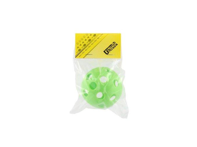 Míček floorbalový plast průměr 7cm asst 2 barvy v sáčku