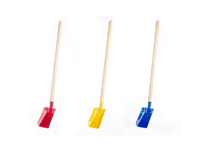 Lopata s násadou kov/dřevo 80cm 2 barvy nářadí