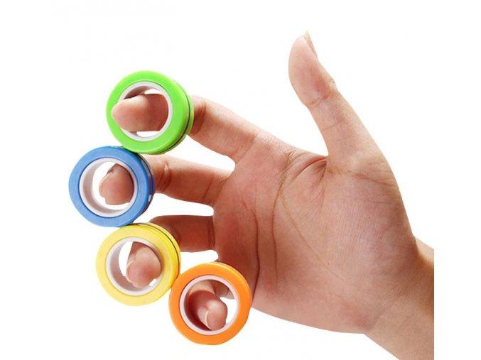 fingears novy magneticky fidget spinner
