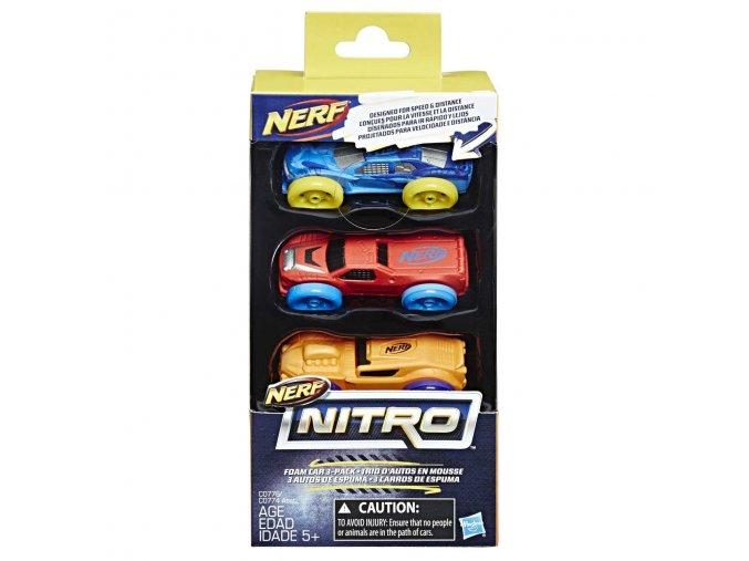 Nerf Nitro náhradní nitro 3 ks (Různé druhy) skladem