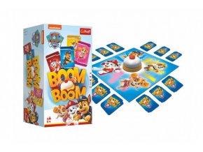 Boom Boom Tlapková patrola/Tlapková Patrola společenská hra v krabici 14x26x10cm