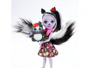 enchantimals panenka a zviratko skunk 1