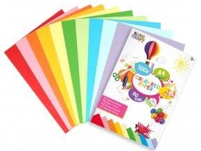 Sada barevných papírů A4 skladem