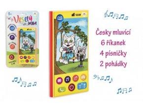 Veselý Mobil Telefon plast česky mluvící skladem