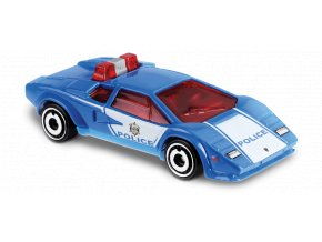 hot wheels lamborghini countach police car fyg84 1