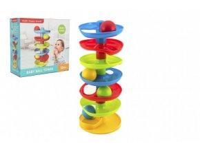 Kuličková dráha - věž plast s kuličkami skladem