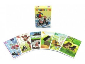 Kvarteto Krtek 1 společenská hra - karty skladem