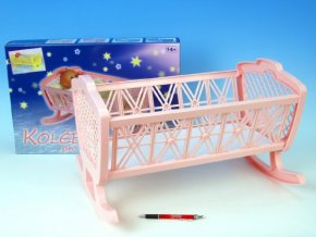 Kolébka pro panenky bez soupravy plast skladem