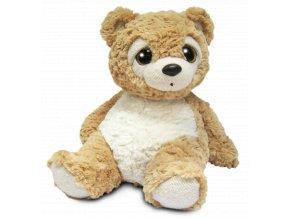 Medvídek plyšový béžový 28 cm skladem