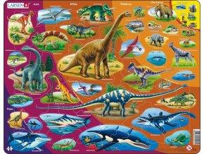 Puzzle Dinosauři 85 dílků skladem