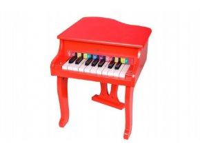Piánko/Klavír dřevo 33x41x37cm v krabici 47x37x7cm