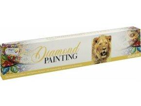 Malování pomocí kamímků Diamond Lev 30x40 cm skladem