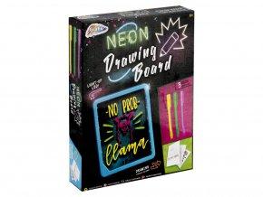 Kreslící tabulka neonová skladem