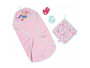 BABY born® Sada s ručníkem skladem
