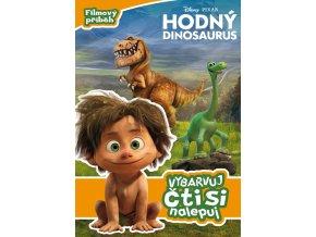 hodny dinosaurus filmovy pribeh vybarvuj cti si nalepuj