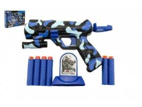 Pistole na pěnové náboje plast 16cm v krabici skladem