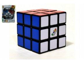 Rubikova kostka hlavolam 3x3x3 plast 5x5x5cm v krabičce