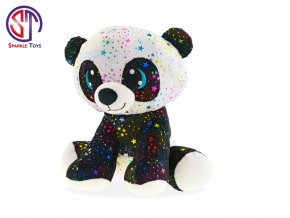panda star sparkle plysova 24cm sedici 0m skladem
