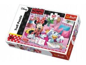 Puzzle Minnie a Daisy Disney 27x20cm 30 dílků skladem