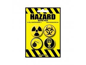 placka set hazard 4x38mm