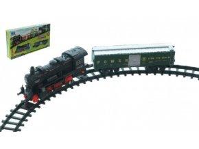 Vlak s kolejemi 14ks na baterie se zvukem a světlem