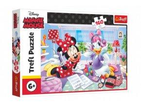 Puzzle Disney Minnie/Den s nejlepšími přáteli 160 dílků skladem