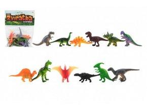 Zvířátka dinosauři mini plast 6-7cm 12ks skladem