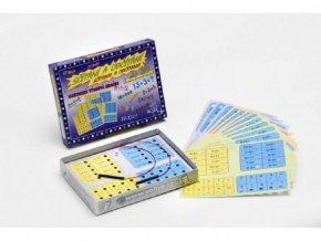 Sčítání a odčítání společenská hra na baterie v krabici skladem