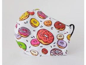 detska rouska donuts donuty koblihy