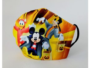 detska rouska mickey mouse halloween