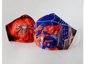 detska rouska spiderman