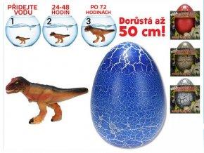 dinosaurus lihnouci a rostouci ve vajicku mega 20cm 3druhy