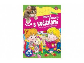 Pracovní sešit Hravá školka s kočičkami CZ verze skladem