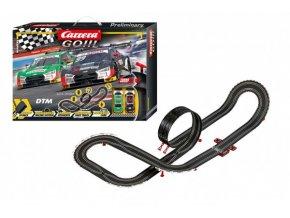 Autodráha Carrera GO!!! 62519 Winners 6,2m + 2 auto v krabici 58x40x10cm