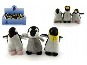 Tučňák plyš 12cm asst 6 druhů (1 ks)