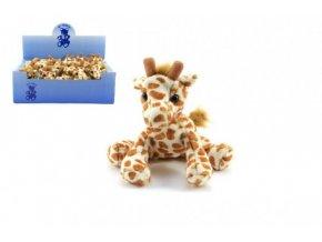 Žirafa plyš 14cm 18ks v boxu