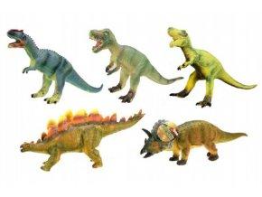 Dinosaurus měkčený plast 40cm asst 6 druhů