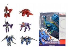 Transformer dinosaurus/robot 18cm mix z 4 druhy v krabici