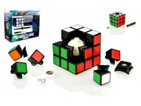 Rubikova kostka sada Speed cube hlavolam plast v krabici  24x19x8cm