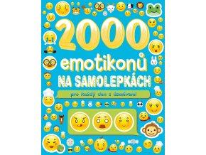 2000 emotikonů na samolepkách pro každý den s úsměvem - kolektiv