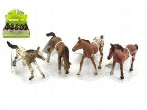 Kůň plast 10cm asst 24ks v boxu