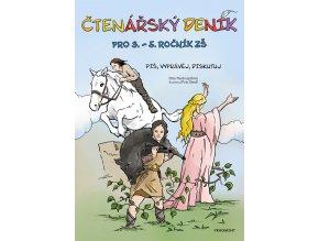 Čtenářský deník pro 3. – 5. ročník ZŠ - Dita Nastoupilová