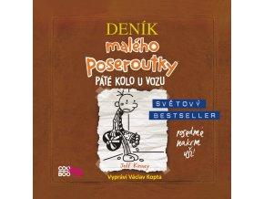 Deník malého poseroutky 7 (audiokniha) - Jeff Kinney, Václav Kopta