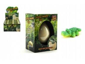 Vejce líhnoucí a rostoucí zvířátko plaz v krabičce 8x10cm (1 ks)