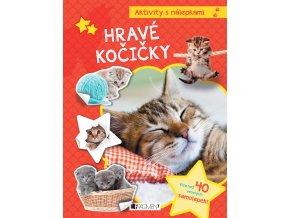 Aktivity s nálepkami – Hravé kočičky - kolektiv