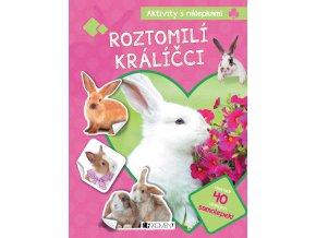 Aktivity s nálepkami – Roztomilí králíčci - kolektiv