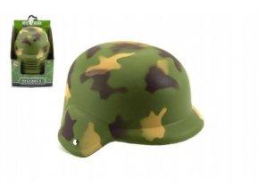 Helma/Přilba vojenská plast 23,5cm 12ks v boxu