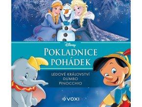 Disney - Ledové království, Dumbo, Pinocchio (audiokniha pro děti) - kolektiv